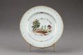 Porslinstallrik gjord i Kina cirka 1740-1750 - Hallwylska museet - 96077.tif