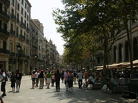 Image illustrative de l'article Avenue Portal de l'Àngel