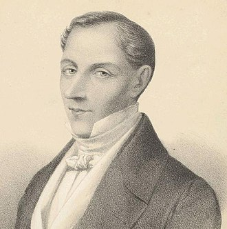 Diego Portales - Early print (1854)