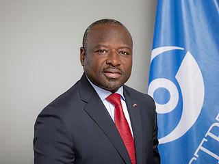 Lassina Zerbo Geophysicist from Burkina Faso, Executive Secretary of the Comprehensive Nuclear-Test-Ban Treaty Organization (CTBTO)