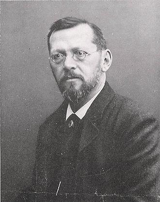 Theodor Barth - Image: Portrait Theodor Barth