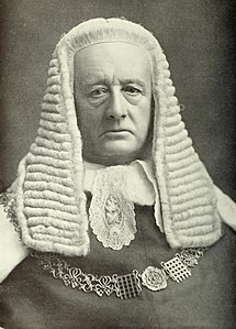 Richard Webster, 1st Viscount Alverstone British barrister, politician and judge