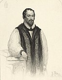 Portrait of Robert Farrar, Bishop of St. Davids. Martyr (4670722).jpg