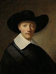 Portrait of a man, known as Gozen Centen (1611/12-77)