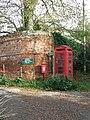 Post Box And Phone Box - geograph.org.uk - 1584375.jpg