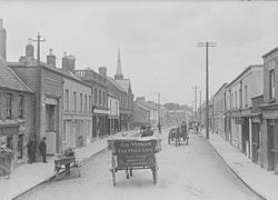 Main Street in Rathfarnham, circa 1905