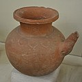 Pottery - Sonkh - Showcase 6-15 - Prehistory and Terracotta Gallery - Government Museum - Mathura 2013-02-24 6469.JPG