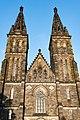 Praha 2, Pevnost Vyšehrad, Bazilika svatého Petra a Pavla 20170808 007.jpg