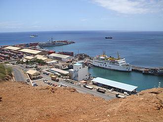 Praia Harbor - Image: Praia Harbor