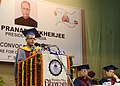Pranab Mukherjee addressing at the Annual Convocation of the Bharatiya Vidya Bhavan's Institute of Communication and Management, at Bhubaneswar in Odisha The Governor of Odisha, Dr. S.C. Jamir is also seen.jpg