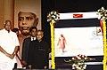 Pranab Mukherjee released a Commemorative Postage Stamp on Late Shri Yashwantrao Chavan, at the concluding ceremony of the birth centenary celebration of former CM of Maharashtra, Late Shri Yashwantrao Chavan.jpg