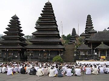 Pura Besakih Wikipedia Bahasa Indonesia Ensiklopedia Bebas