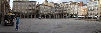 Ourense - Image: Praza Maior de Ourense