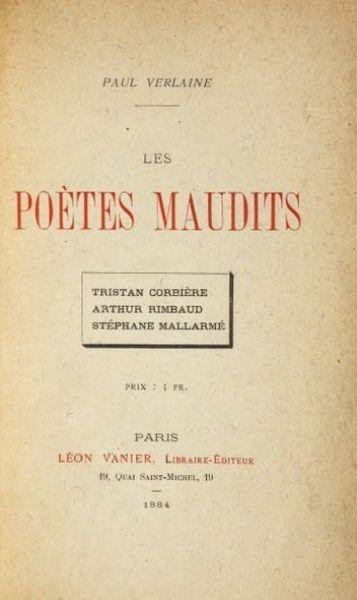 Ficheiro:Première édition des Poètes Maudits.jpg