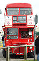 Preserved Routemaster bus RM1000 (100 BXL), 2009 Canvey Island bus rally.jpg