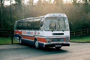 British Coachways - Preserved Plaxton bodied Volvo B58 in January 2011