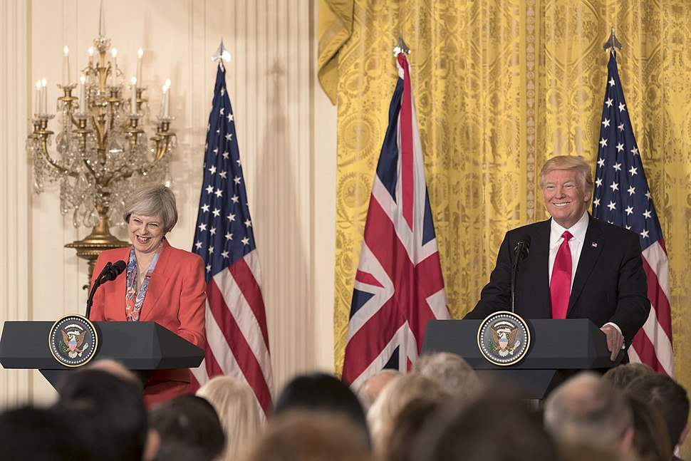 President Donald Trump and PM Theresa May Joint Press Conference, January 27, 2017