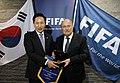 President Lee met with FIFA President Sepp Blatter (4350681776).jpg