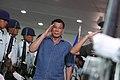 President Rodrigo Duterte at the Francisco Bangoy International Airport 2.jpg