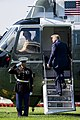 President Trump Departs for Williamsburg, Virginia (48414301691).jpg