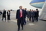 President Trump visits Roland R. Wright Air National Guard Base 001.jpg
