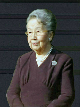Yuriko, Princess Mikasa - Princess Mikasa during the New Year's Greeting on 2 January 2012