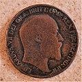 Profil d'Edward VII sur un demi-penny, 1902.jpg