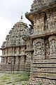 Profile of Lakshminarasimha temple at Javagal.JPG