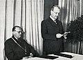 Promoce na Husově bohoslovecké fakultě, synodní senior Josef Křenek.jpg