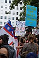 Protest signs at the Stand Against Racism protest in Auckland city, Sunday 24 March 2019.jpg