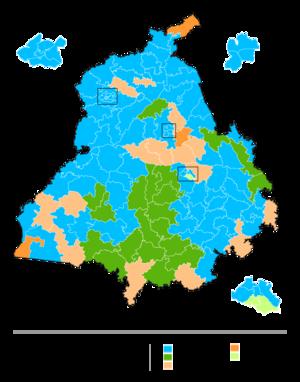 Punjab Legislative Assembly election, 2017 - Image: Punjab election, 2017
