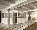 Purser's Bureau, on the Promenade Deck, Lusitania (6054224634).jpg