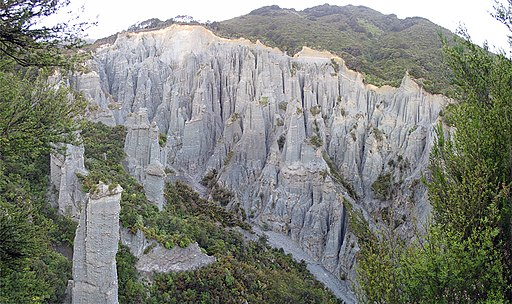 Putangirua Pinnacles overview4