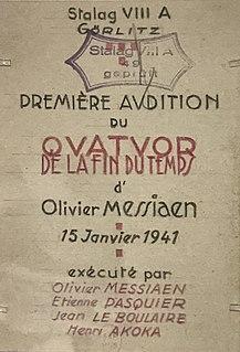 <i>Quatuor pour la fin du temps</i>