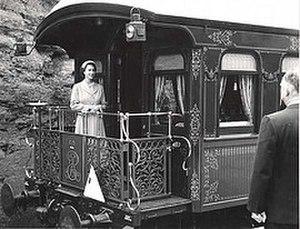 Harry Andreas - Queen Elizabeth II arriving in Leura for her visit to Leuralla