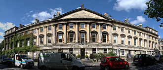 Queen Square, Bath - The north side of Queen Square