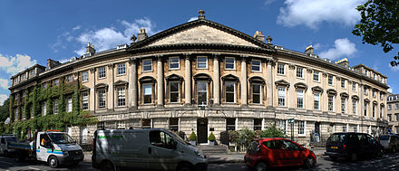 North side, Queen Square Queen Square Bath north side.jpg