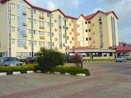 Queen's Suites Hotel, Iyi-agu Estate, Awka Queens suite hotel.jpg