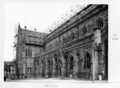 Queensland State Archives 6458 Scaffolding at St Stephens Cathedral Brisbane June 1959.png