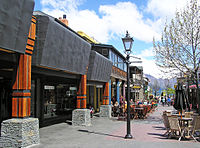 Queenstown Mall, Nueva Zelanda.