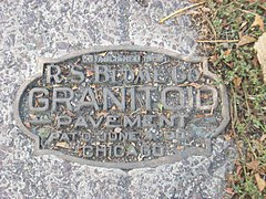 R.S. Blome Granitoid Plaque, Franklin Ave, Grand Forks ND.jpg