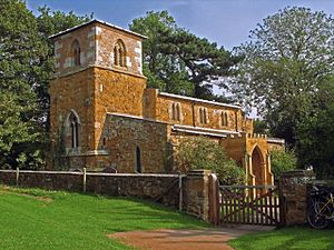 Hoby with Rotherby - The ironstone church at Ragdale