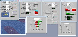 Integrated asset modelling - RAVE GUI screenshot