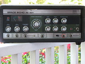 Roland RE-201 - RE-201 Front Panel