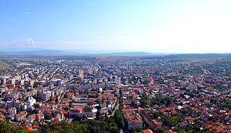 Deva, Romania - Image: RO HD Deva Centru