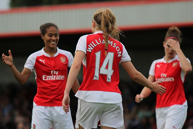 File:Rachel Yankey Leah Williamson Arsenal Ladies Vs ...