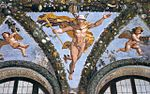 Ghirlande Villa Farnesina A Roma