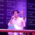 Raghav Chadha speaking at the World Law Forum.png