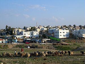 Beersheba metropolitan area - Rahat
