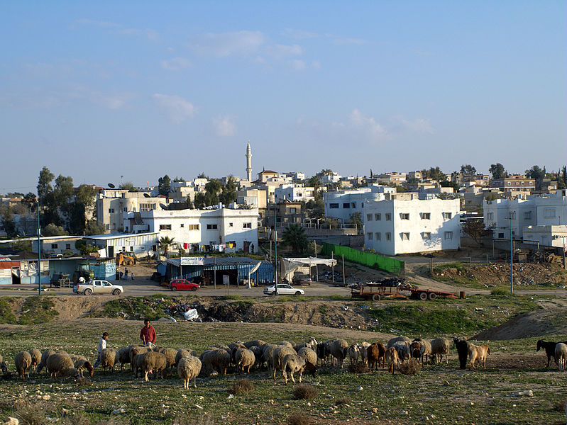 File:Rahat largest Bedouin city in Israel.jpg